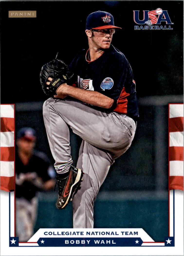 2012 USA Baseball #22 Bobby Wahl