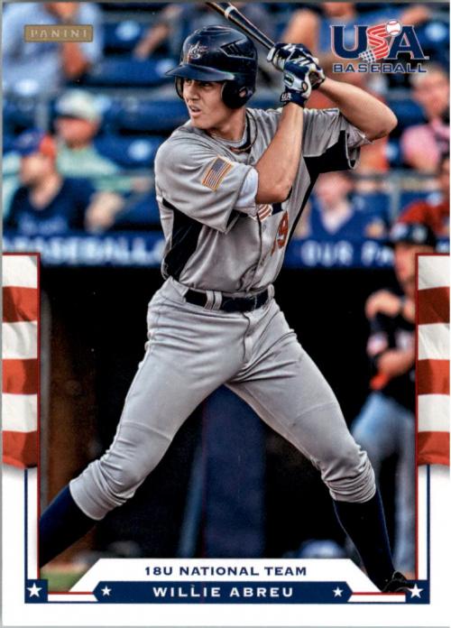 2012 USA Baseball #24 Willie Abreu