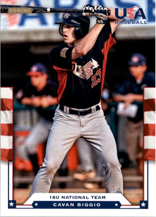 2012 USA Baseball #26 Cavan Biggio