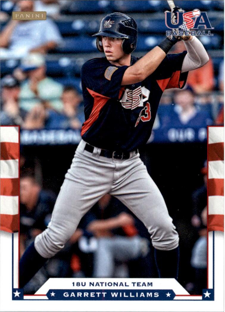2012 USA Baseball #42 Garrett Williams