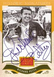 2012 Panini Golden Age Historic Signatures #49 Richard Petty