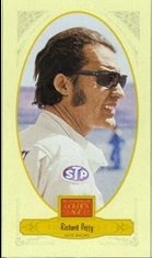 2012 Panini Golden Age Mini Broadleaf Brown Ink #93 Richard Petty