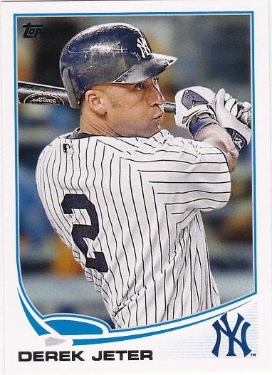 2013 Topps #2A Derek Jeter