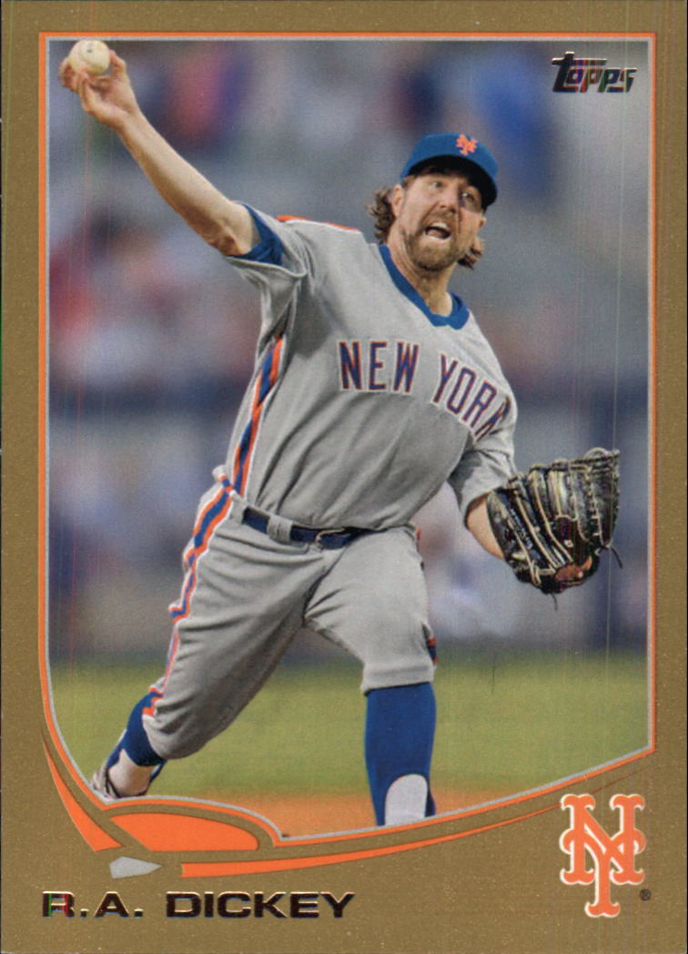 2013 Topps Gold #43 R.A. Dickey
