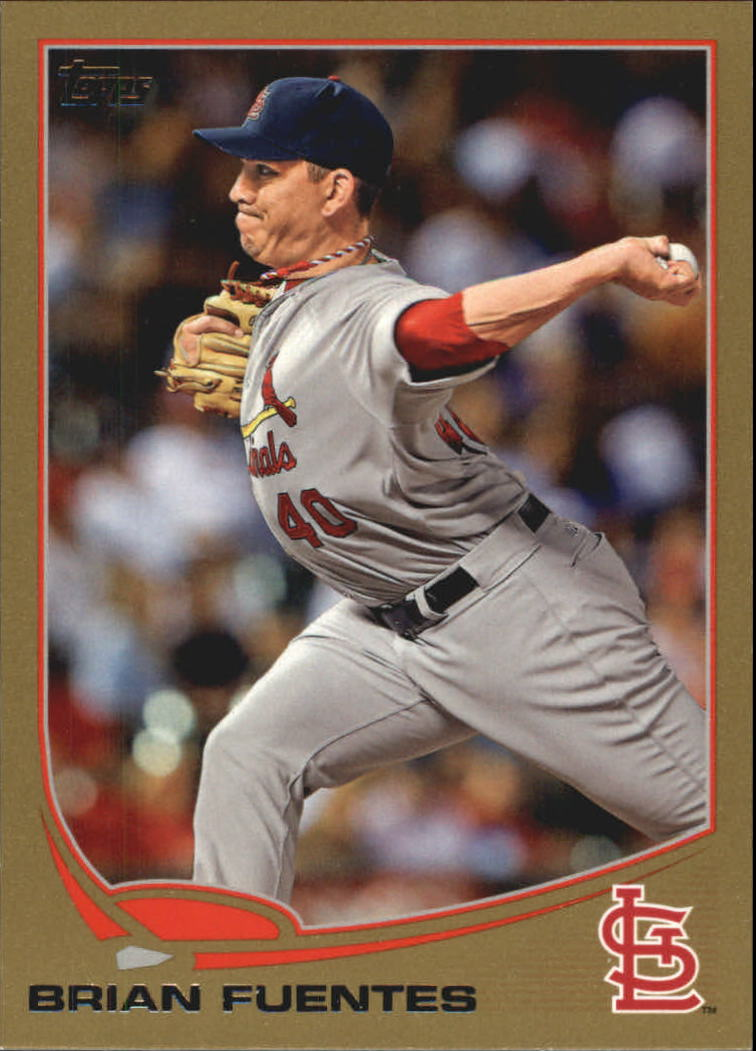 2013 Topps Gold #188 Brian Fuentes