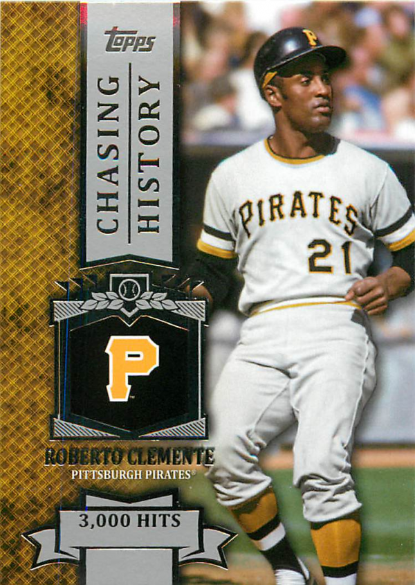 2013 Topps Chasing History #CH2 Roberto Clemente