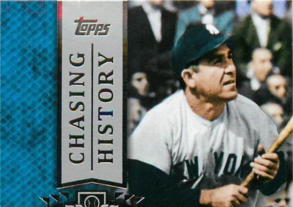 2013 Topps Chasing History #CH5 Yogi Berra