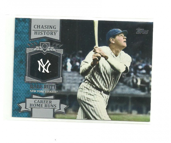 2013 Topps Chasing History #CH11 Babe Ruth