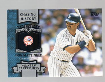 2013 Topps Chasing History #CH13 Don Mattingly