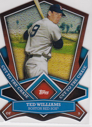 2013 Topps Cut To The Chase #CTC9 Ted Williams