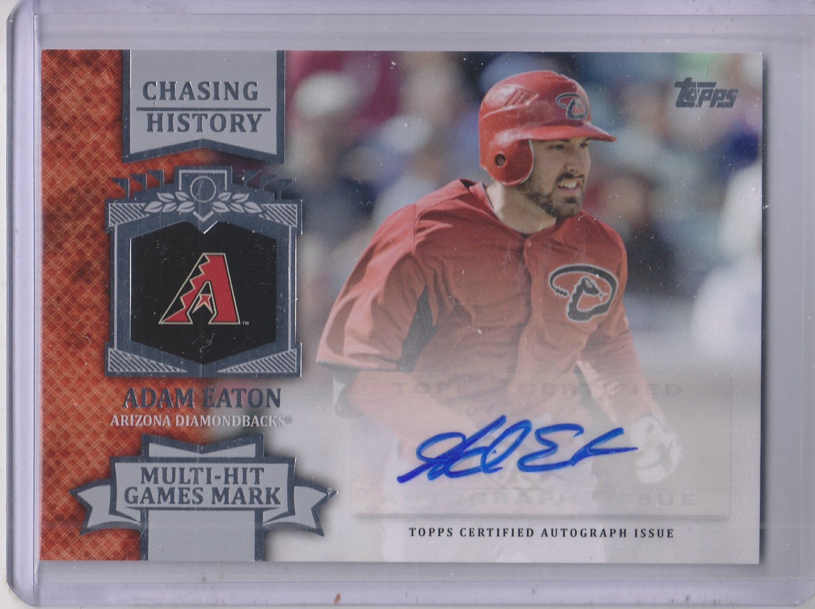 2013 Topps Chasing History Autographs #AE Adam Eaton UPD
