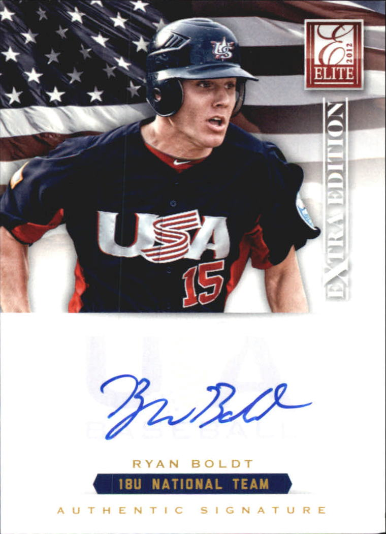 2012 Elite Extra Edition USA Baseball 18U Signatures #4 Ryan Boldt