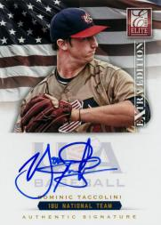 2012 Elite Extra Edition USA Baseball 18U Signatures #17 Dominic Taccolini