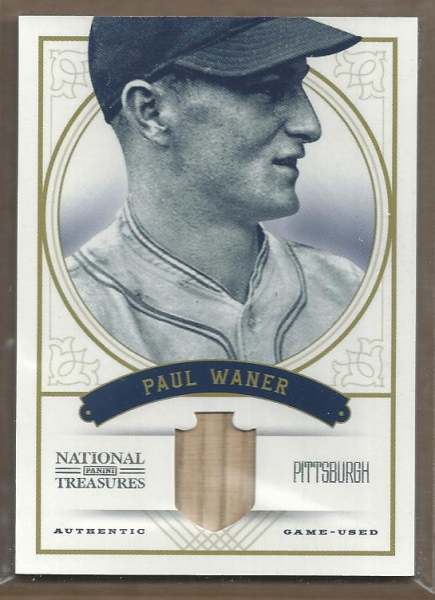 2012 Panini National Treasures #13 Paul Waner/49