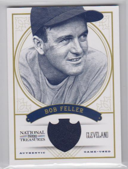 2012 Panini National Treasures #21 Bob Feller/99