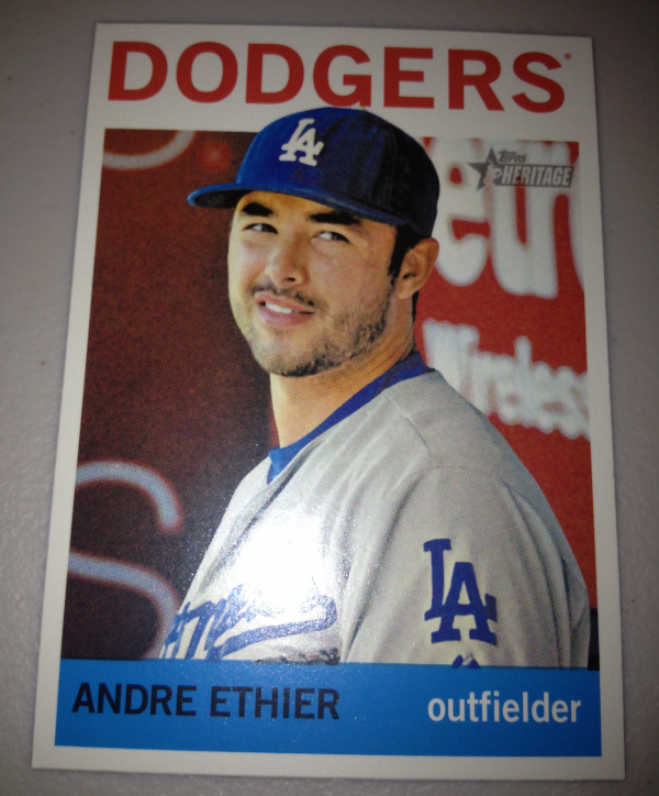 2013 Topps Heritage #427 Andre Ethier SP