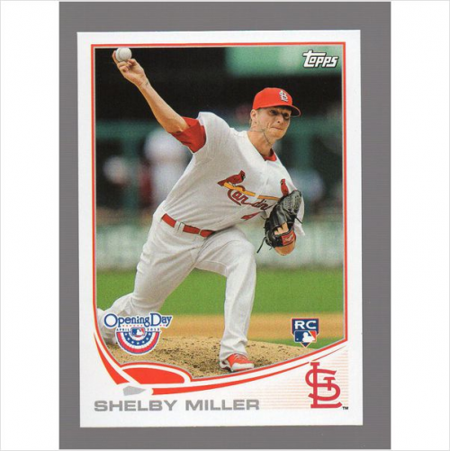 2013 Topps Opening Day #72 Shelby Miller RC