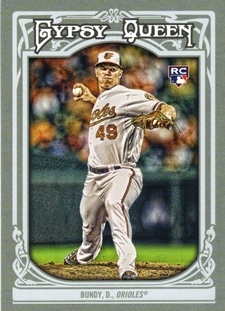 2013 Topps Gypsy Queen #41 Dylan Bundy RC