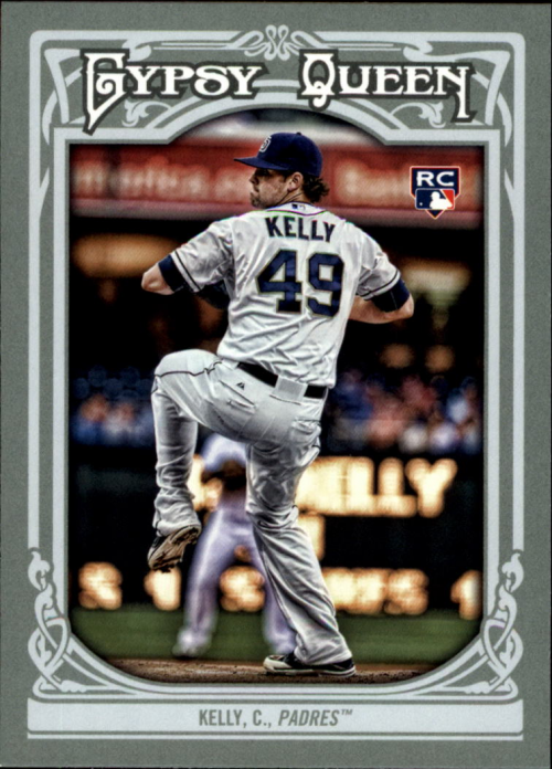 2013 Topps Gypsy Queen #73 Casey Kelly RC