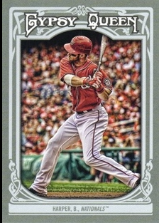 2013 Topps Gypsy Queen #100A Bryce Harper
