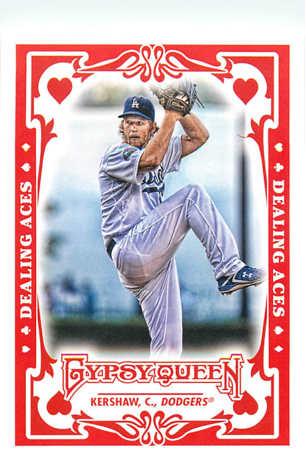 2013 Topps Gypsy Queen Dealing Aces #CK Clayton Kershaw