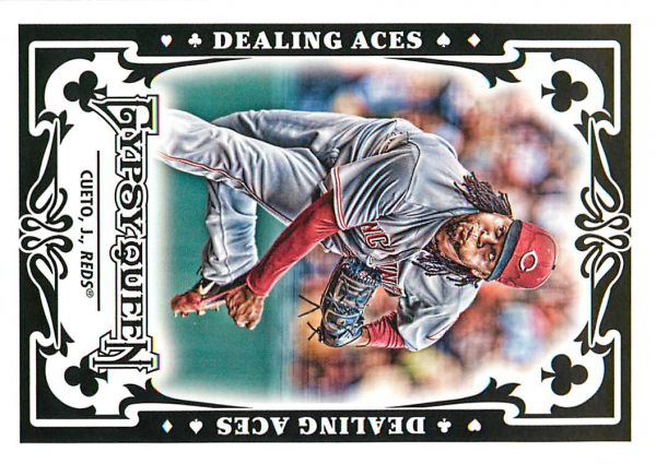 2013 Topps Gypsy Queen Dealing Aces #JC Johnny Cueto