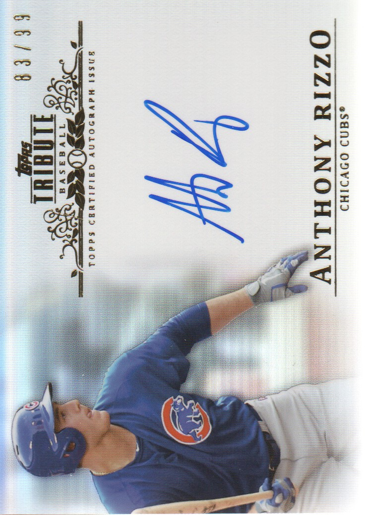 2013 Topps Tribute Autographs #AR Anthony Rizzo