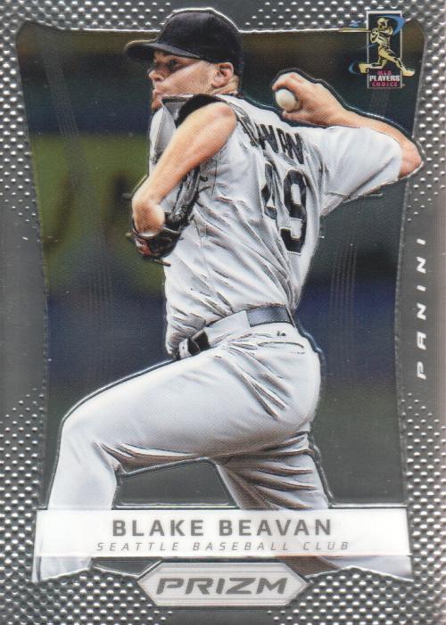 2012 Panini Prizm #9 Blake Beavan