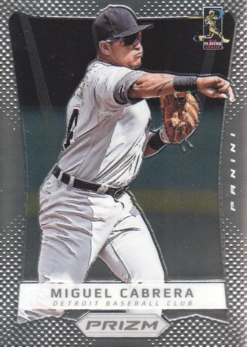 2012 Panini Prizm #24 Miguel Cabrera