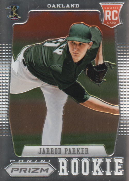 2012 Panini Prizm #154 Jarrod Parker RC