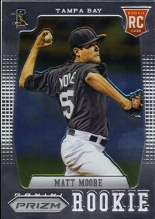 2012 Panini Prizm #156 Matt Moore RC