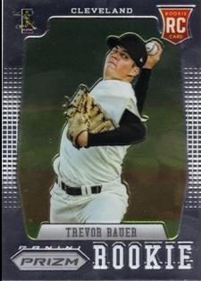 2012 Panini Prizm #166 Trevor Bauer RC