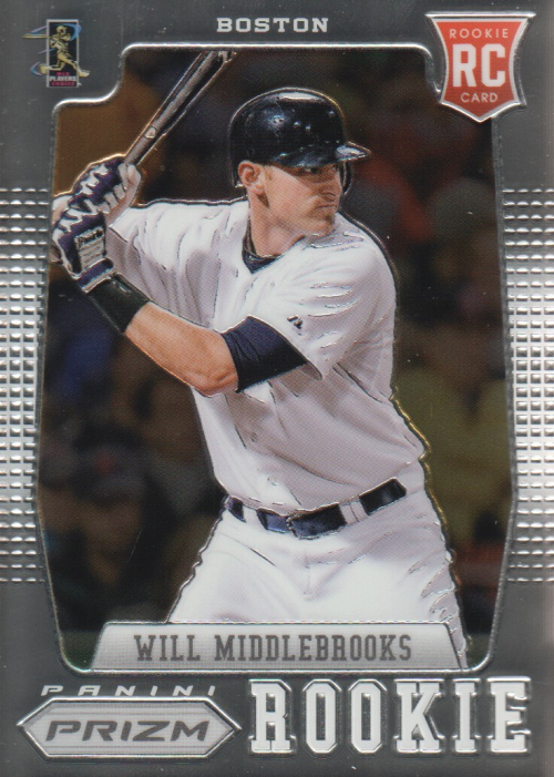 2012 Panini Prizm #168 Will Middlebrooks RC
