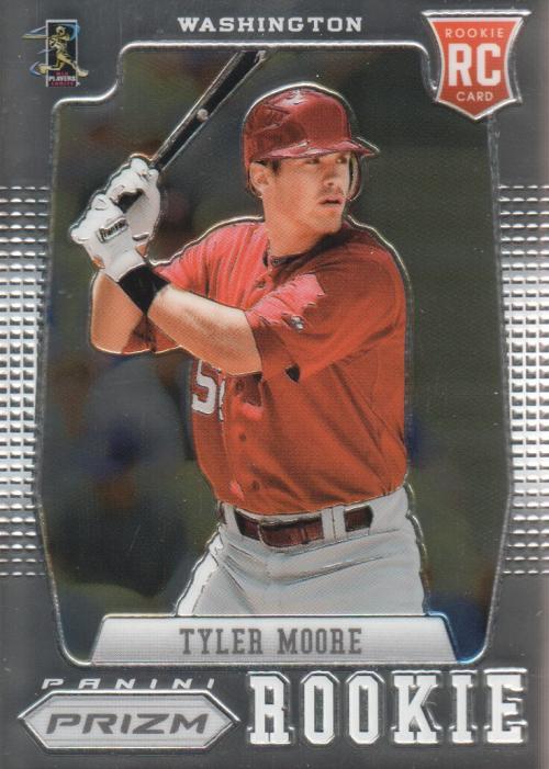 2012 Panini Prizm #173 Tyler Moore RC