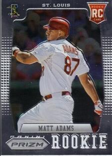2012 Panini Prizm #186 Matt Adams RC