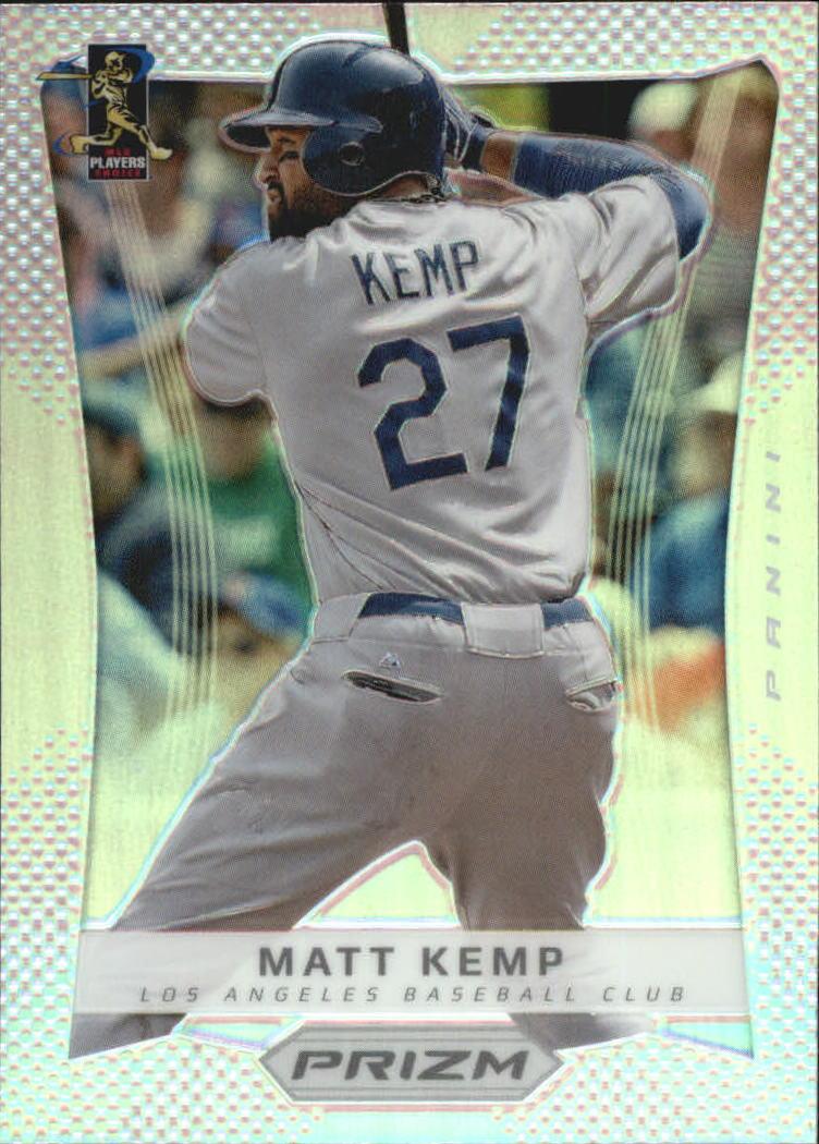 2012 Panini Prizm Prizms #3 Matt Kemp