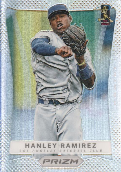 2012 Panini Prizm Prizms #15 Hanley Ramirez
