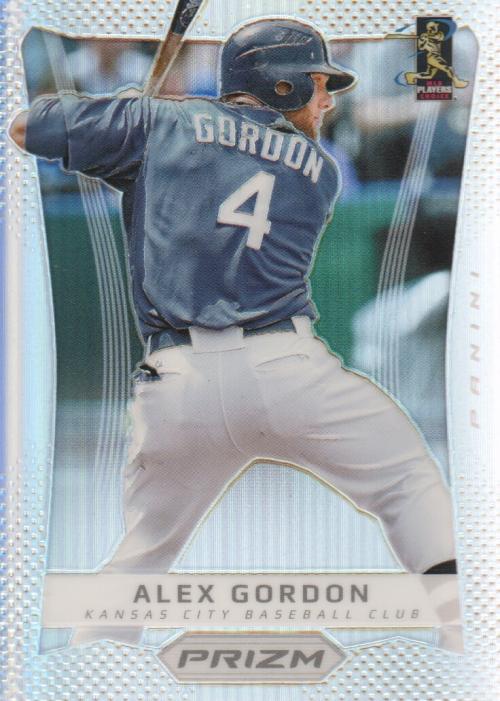 2012 Panini Prizm Prizms #18 Alex Gordon