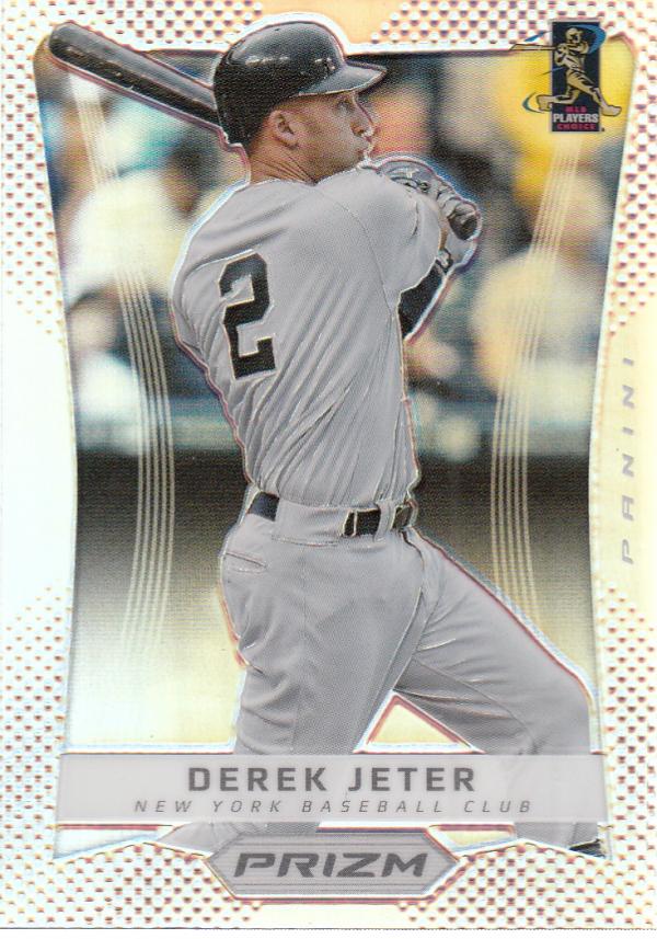2012 Panini Prizm Prizms #22 Derek Jeter