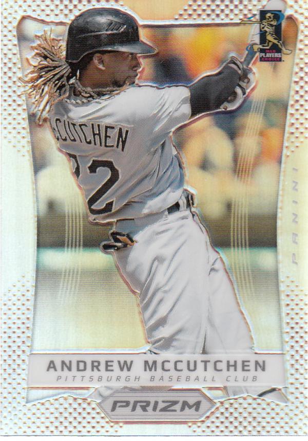 2012 Panini Prizm Prizms #23 Andrew McCutchen