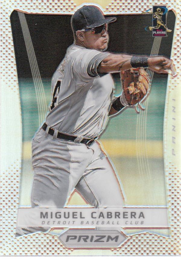 2012 Panini Prizm Prizms #24 Miguel Cabrera