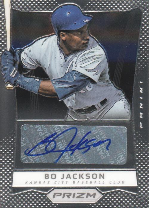 2012 Panini Prizm Autographs #BO Bo Jackson