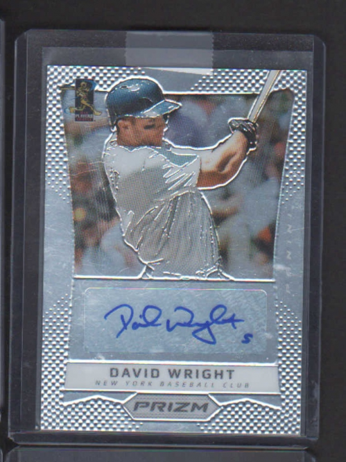 2012 Panini Prizm Autographs #DW David Wright