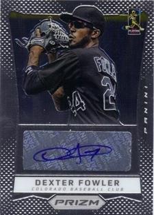 2012 Panini Prizm Autographs #DF Dexter Fowler