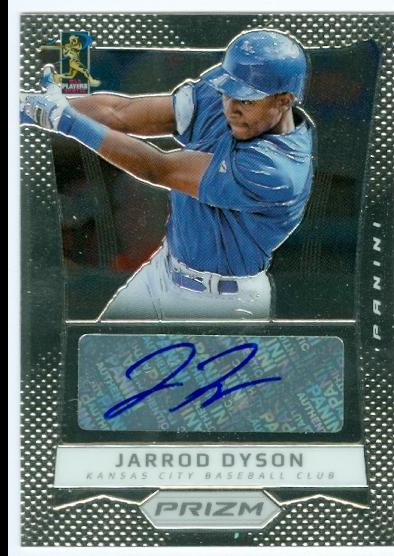 2012 Panini Prizm Autographs #JD Jarrod Dyson