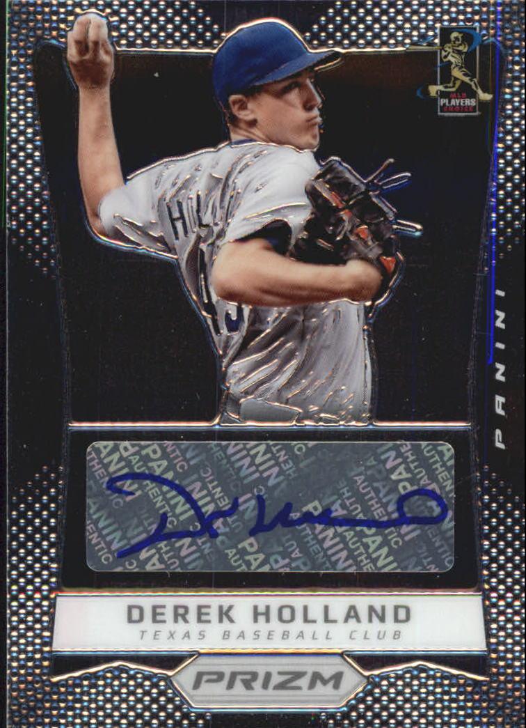 2012 Panini Prizm Autographs #DH Derek Holland