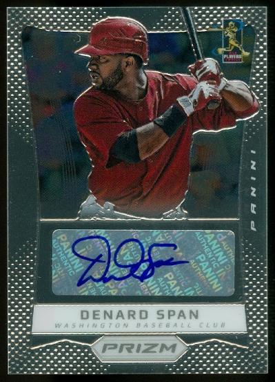2012 Panini Prizm Autographs #DS Denard Span