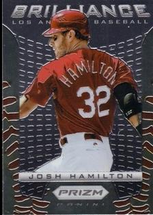 2012 Panini Prizm Brilliance #B3 Josh Hamilton