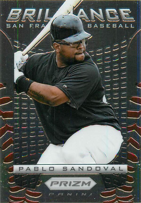 2012 Panini Prizm Brilliance #B5 Pablo Sandoval