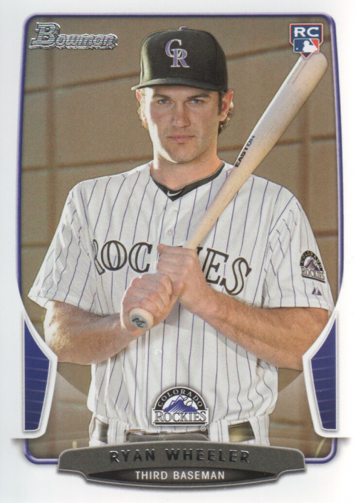 2013 Bowman #43 Ryan Wheeler RC